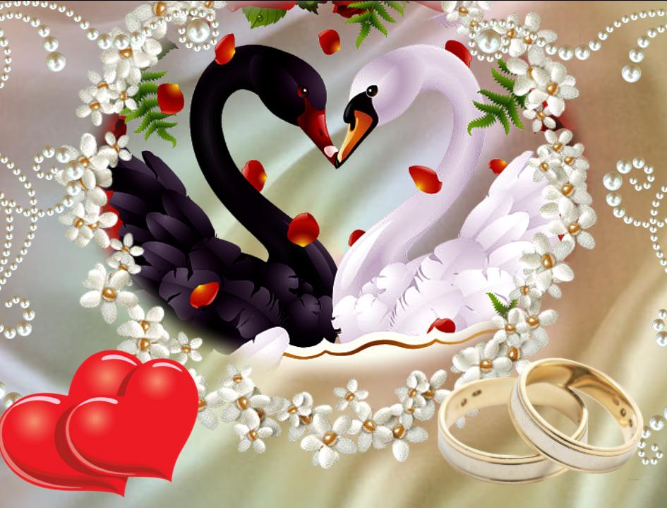 Открытки з годовщиной свадьбы