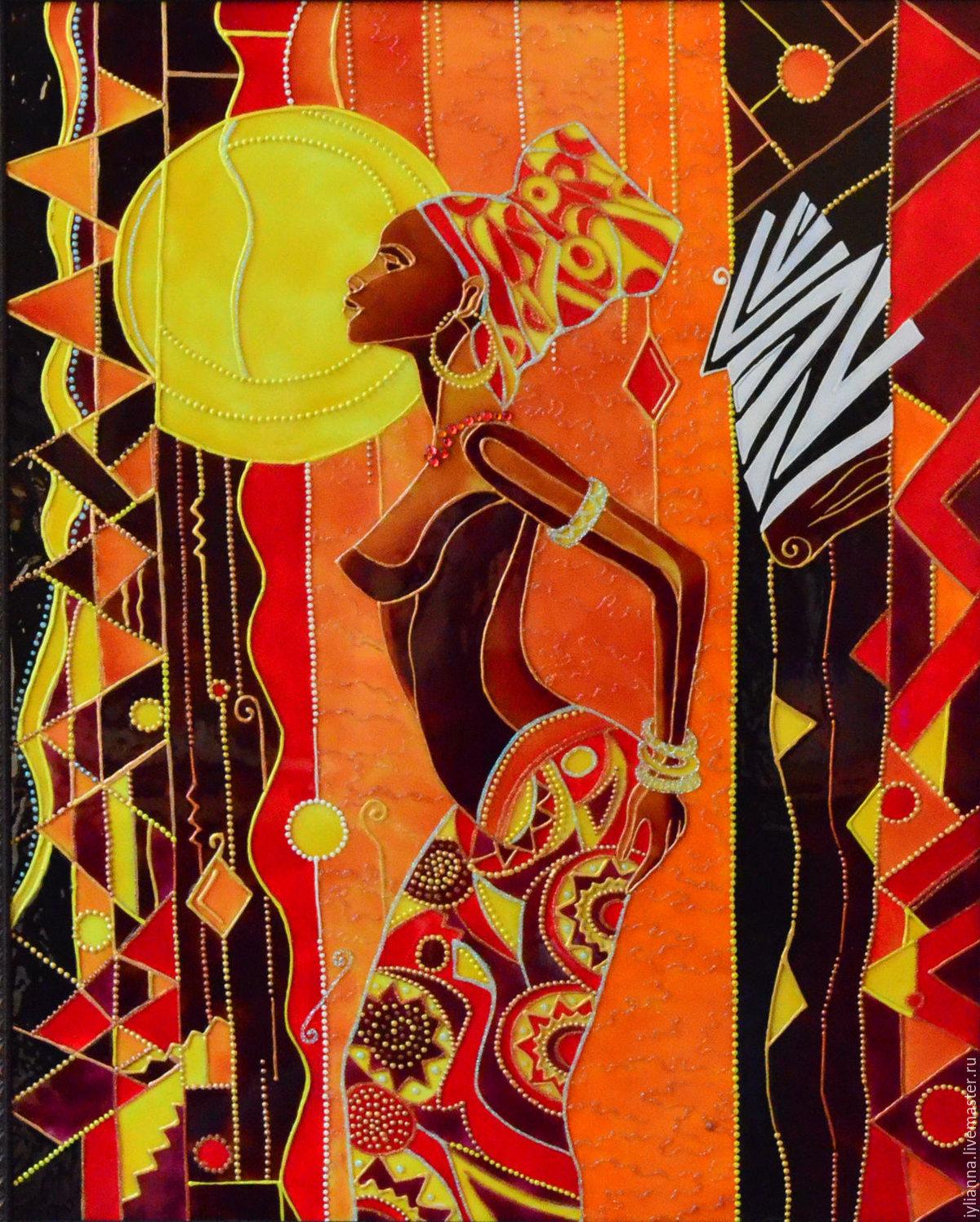 картинки африка мотивы сотни людей