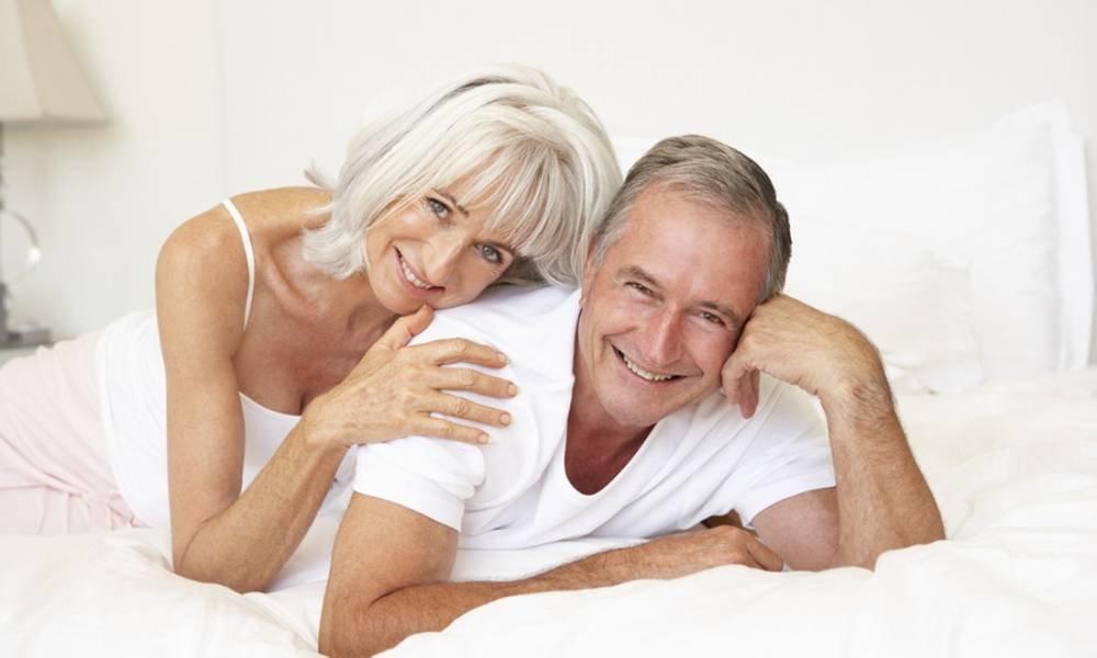 парень с пожилой дамой