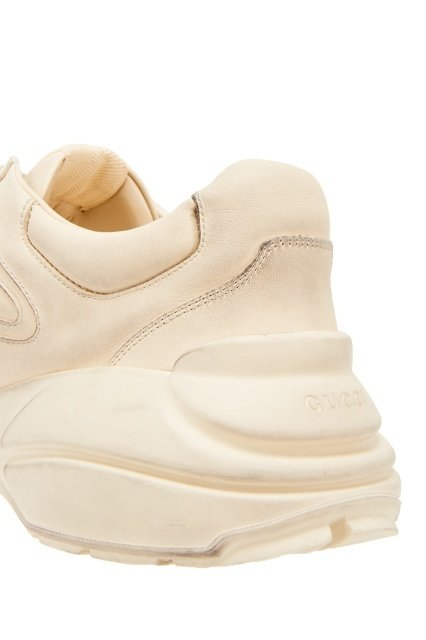 aaffc73b57ea Кроссовки Rhyton Gucci logo leather sneaker в Моздоке. Vs Официальный сайт  http