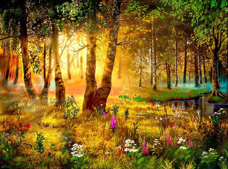 Лягушки танцуют, природа лес картинки для детей