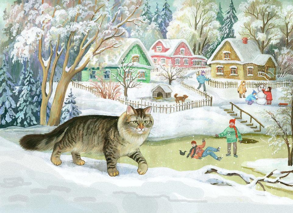 Путевка, коты родионовой картинки