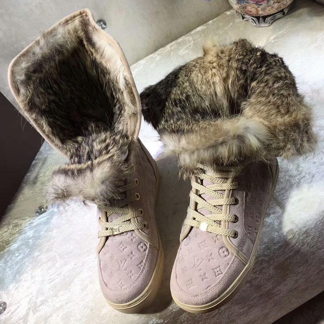 Сапоги зимние Louis Vuitton женские. Зимние Короткие Сапоги Купить Недорого  Подробности... ❤ 739352dd27a