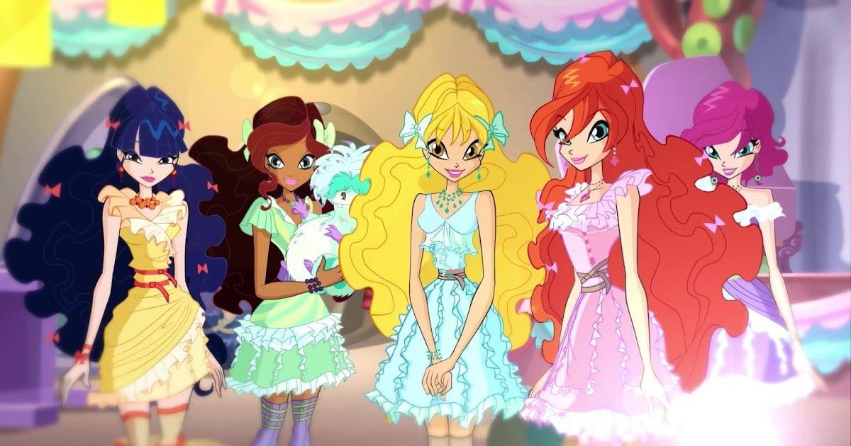 Картинки из первого сезона винкс