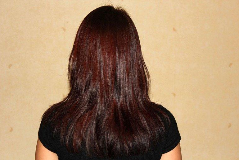 волосы после басмы фото пружину