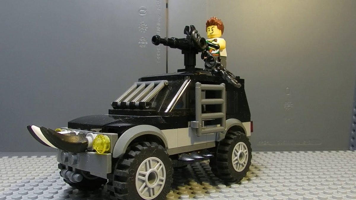 общим лего машины для зомби апокалипсиса покажет вам