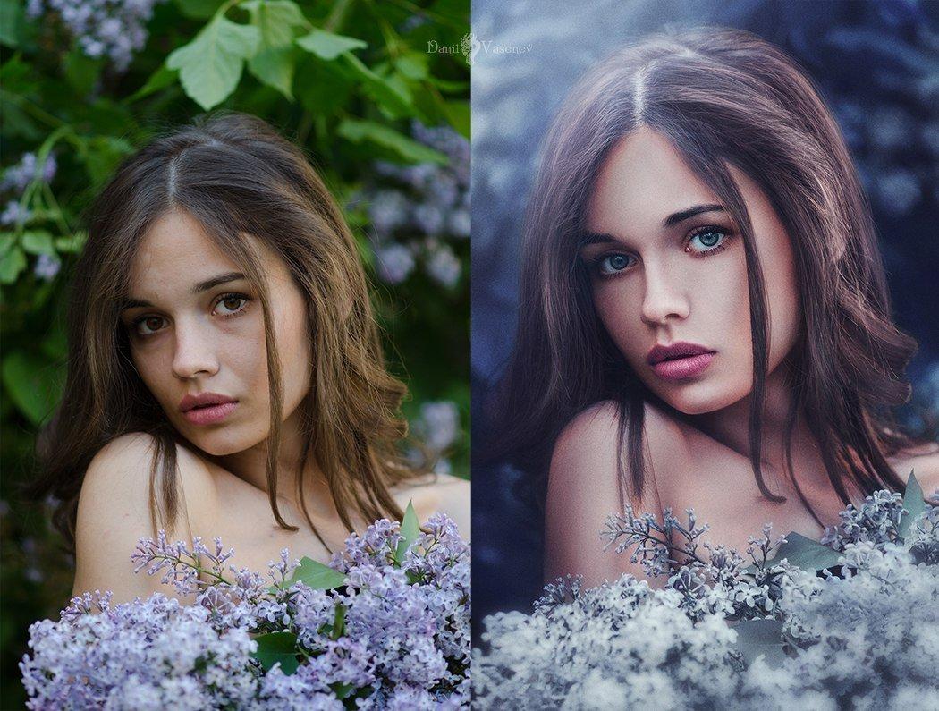 как обработать портрет в фотошопе красиво - 7