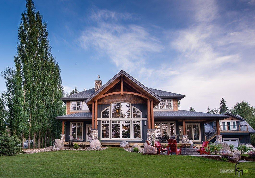 Красивые картинки загородных домов