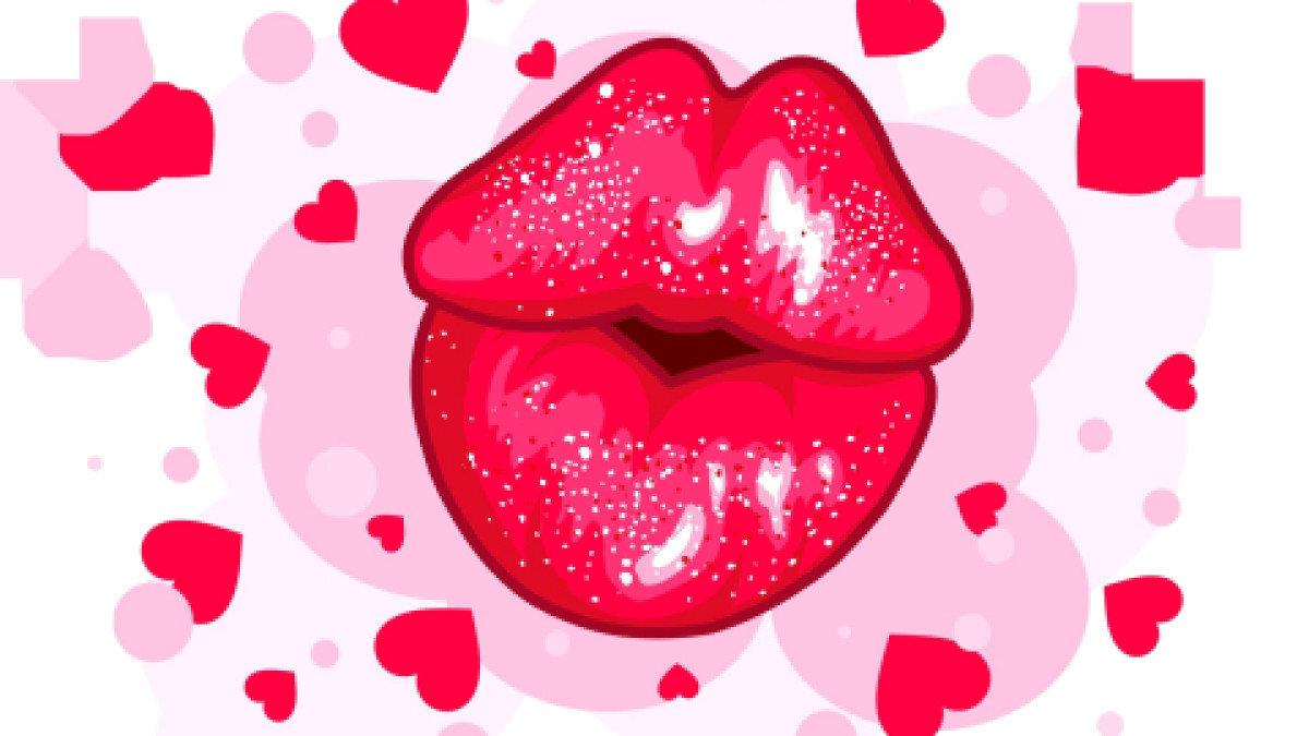 Картинки сердце и губы