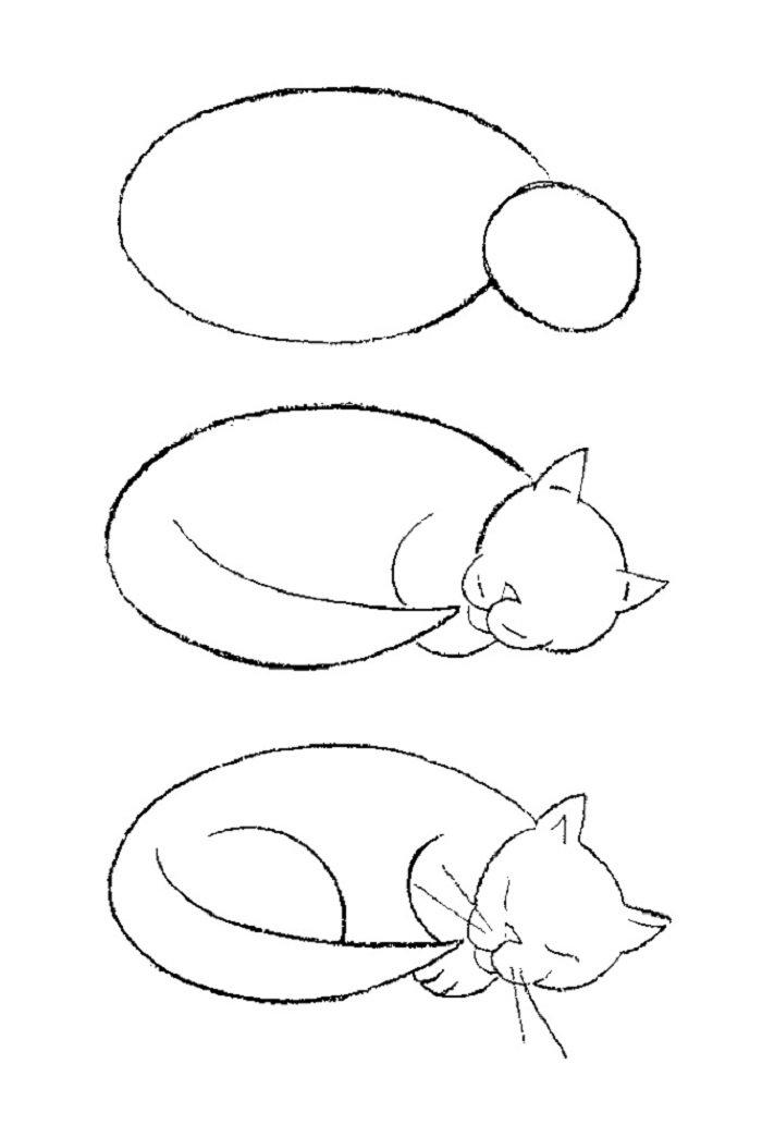 Как нарисовать картинку легко и просто