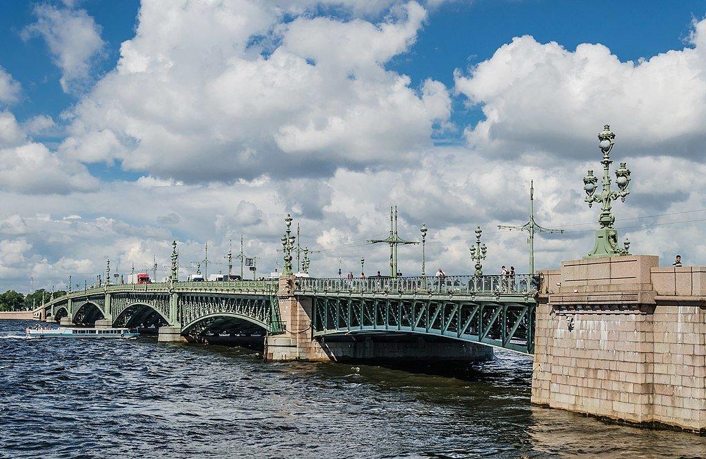 29 мая 1903 года в Петербурге состоялось торжественное открытие Троицкого моста через Неву