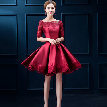 70da5cb3b9b Купить товар 2016 самый элегантный вечерние платья с half рукава ...