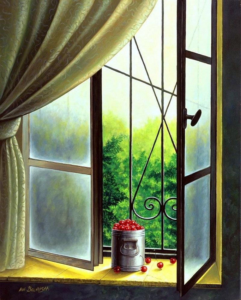 Картинки на тему у окна