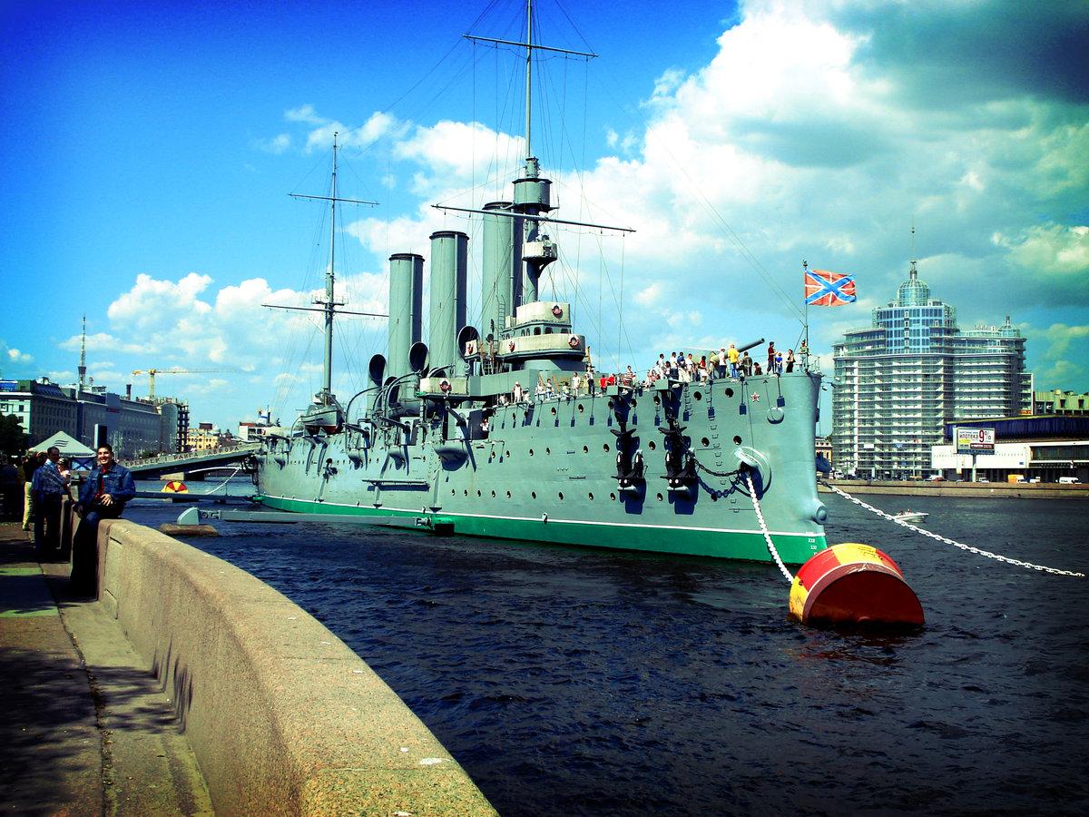 путать его фото крейсера аврора в санкт петербурге спинной плавник вогнутый