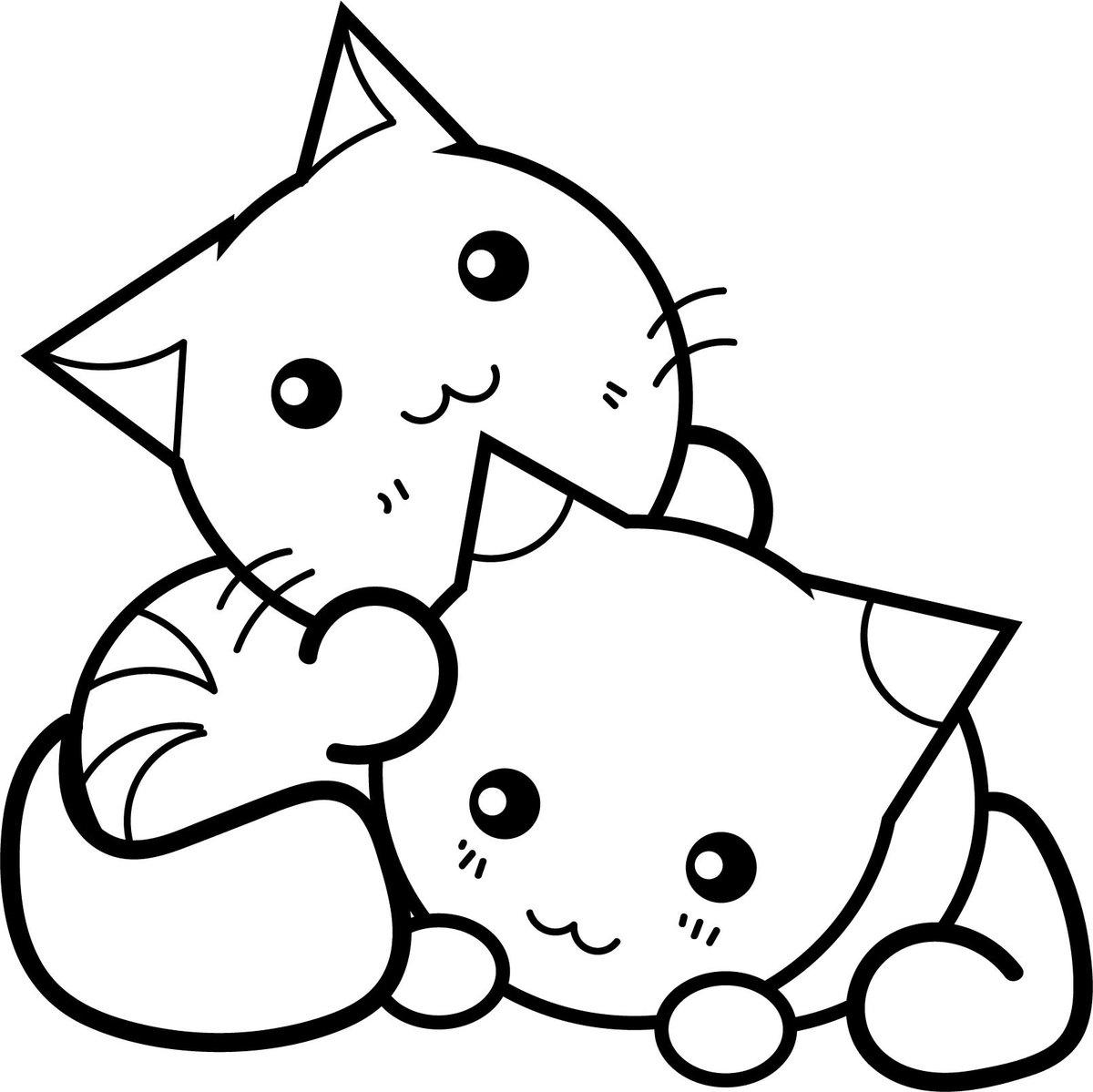 милые картинки котиков раскраски распечатать выдержка закона хабаровского