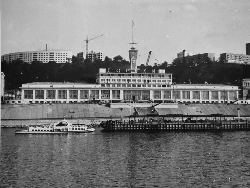Картинки высокого качества речной вокзал г горький