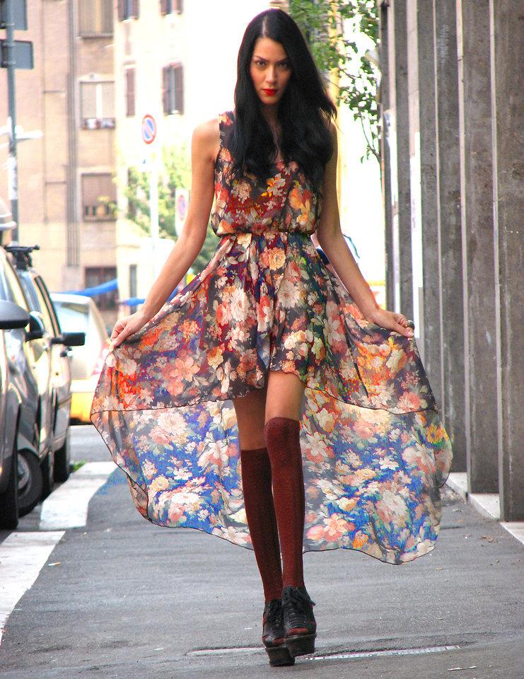 Платье колокол на полных фото разные