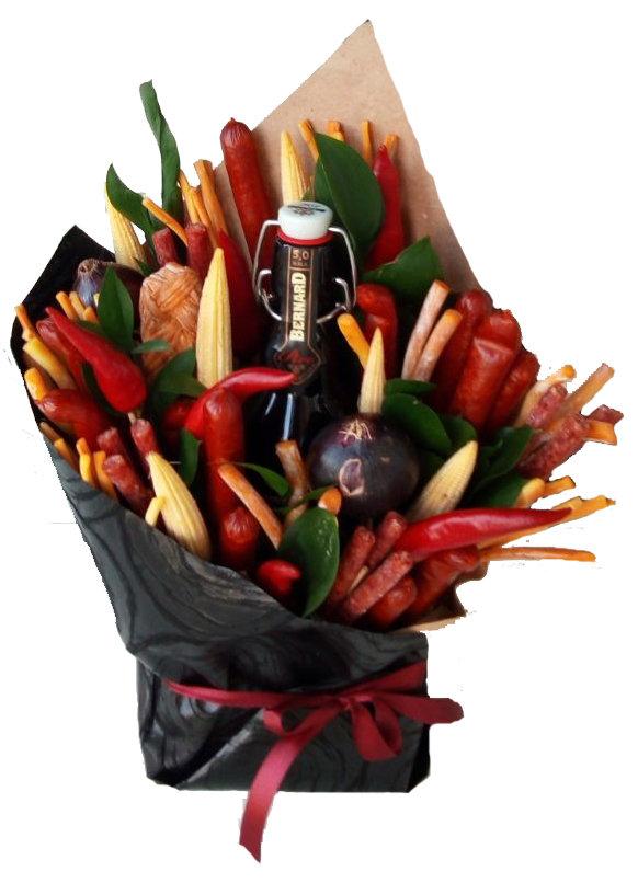 Цветов барбадосе, букеты для мужчин ровно