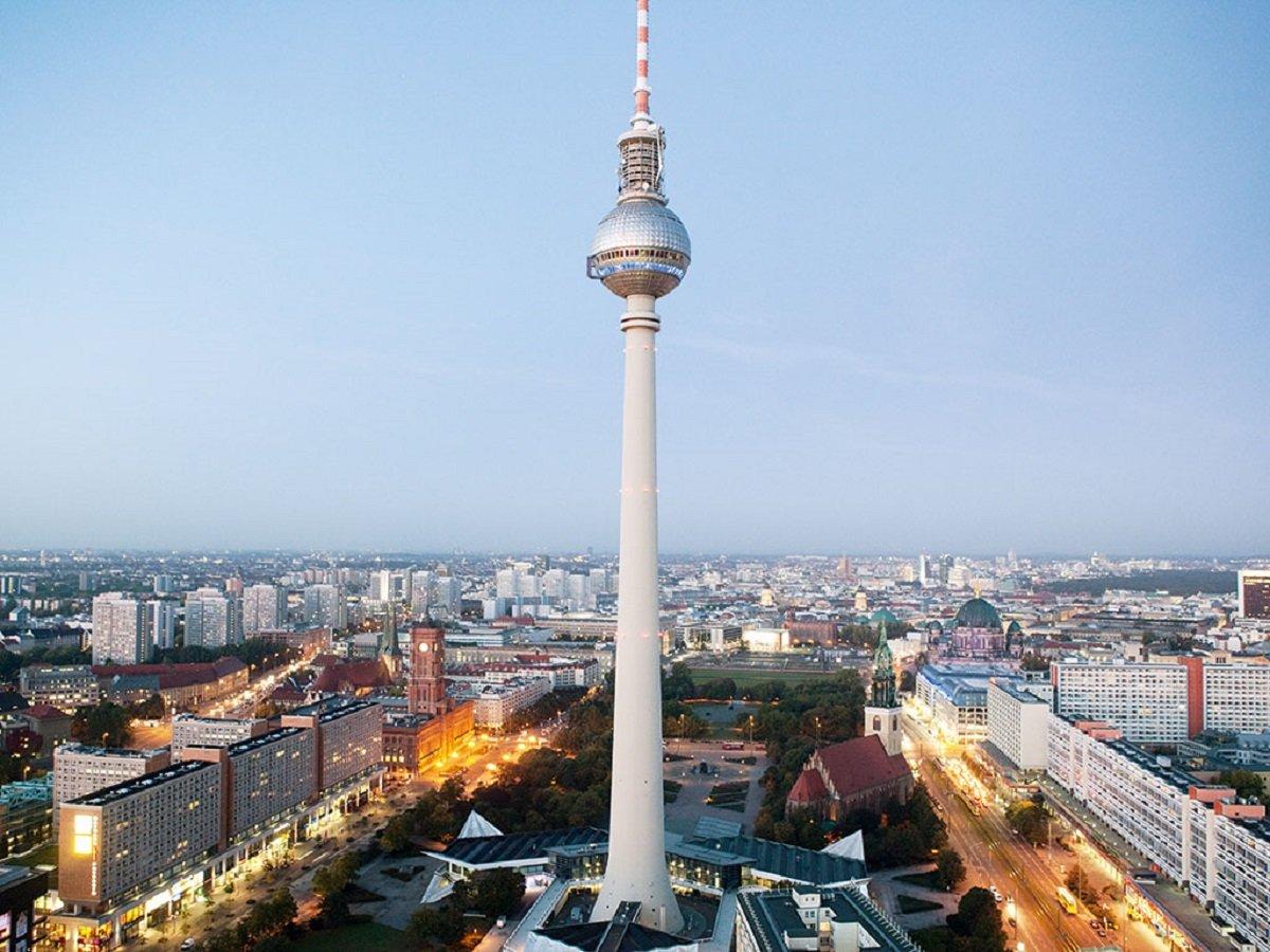 картинки берлинская телебашня уехать куда нибудь