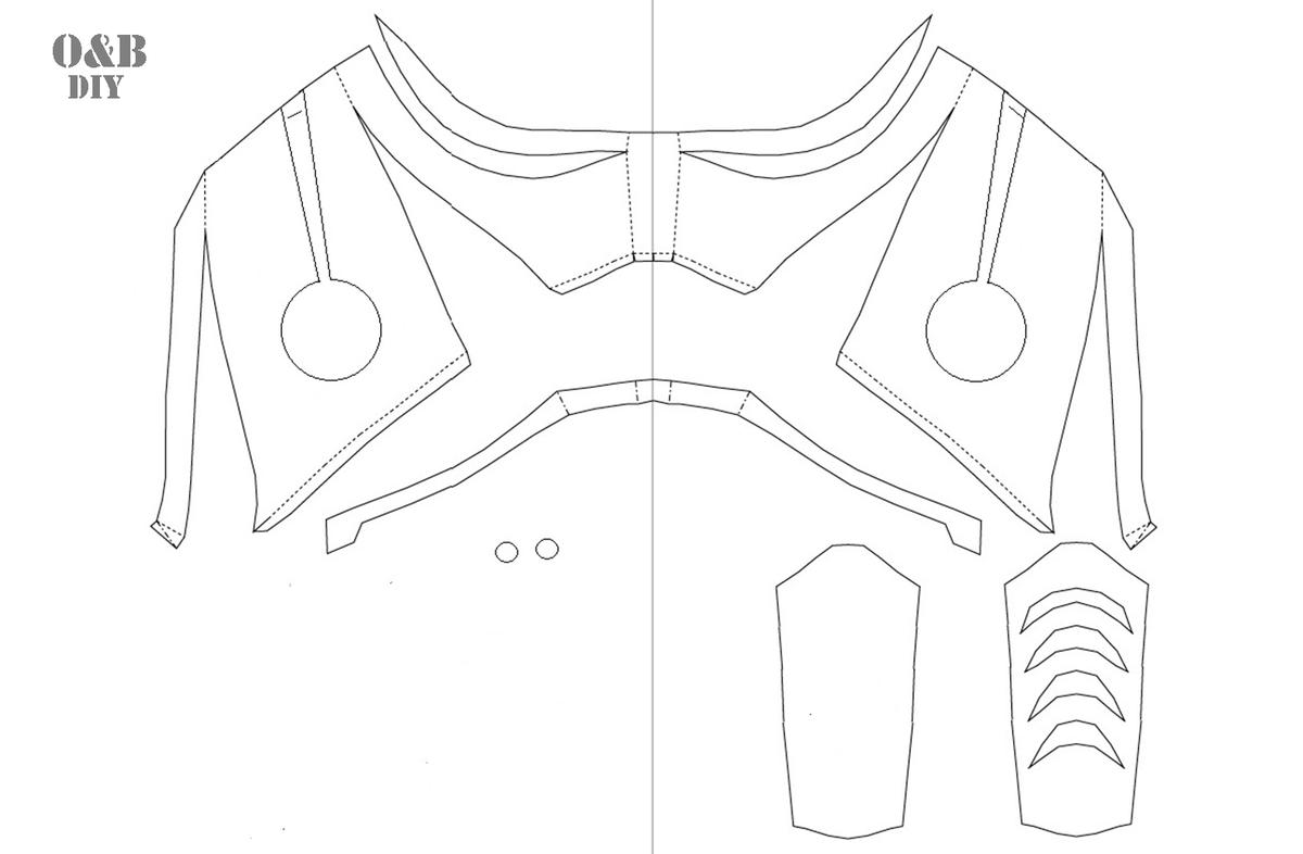 Mortal kombat subzero / saibot mask pdf template | etsy.
