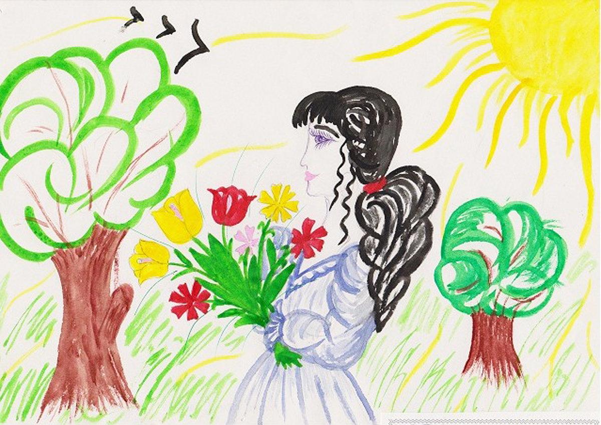 Рисунок с днем матери 11 лет, картинки рождением