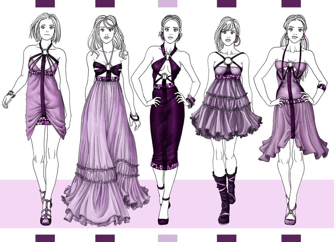 Мода в картинках как делать