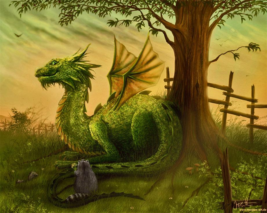 Картинки дракон из сказки