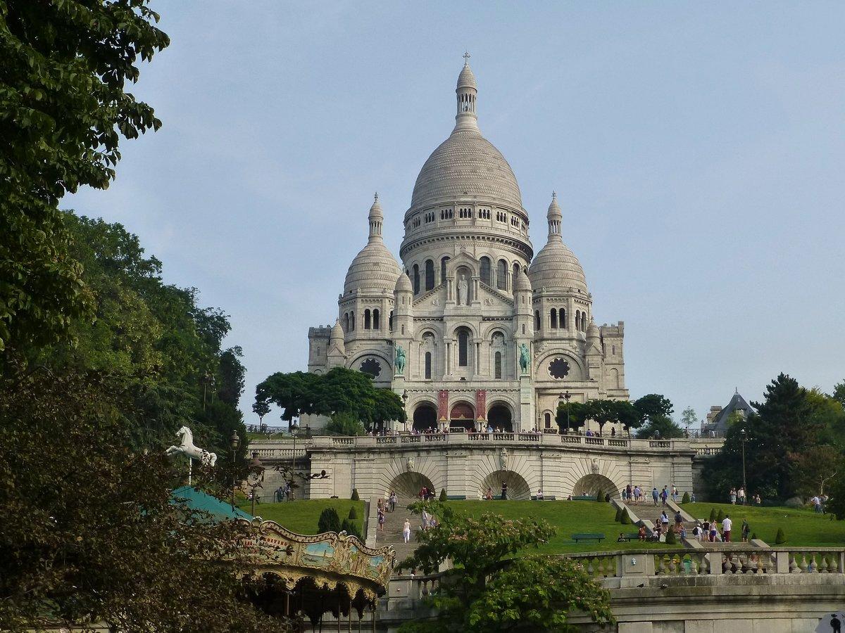 Базилика Сакре-Кёр (P1680676) #архитектура #базилика_ сакре-кёр #монмартр #париж #франция