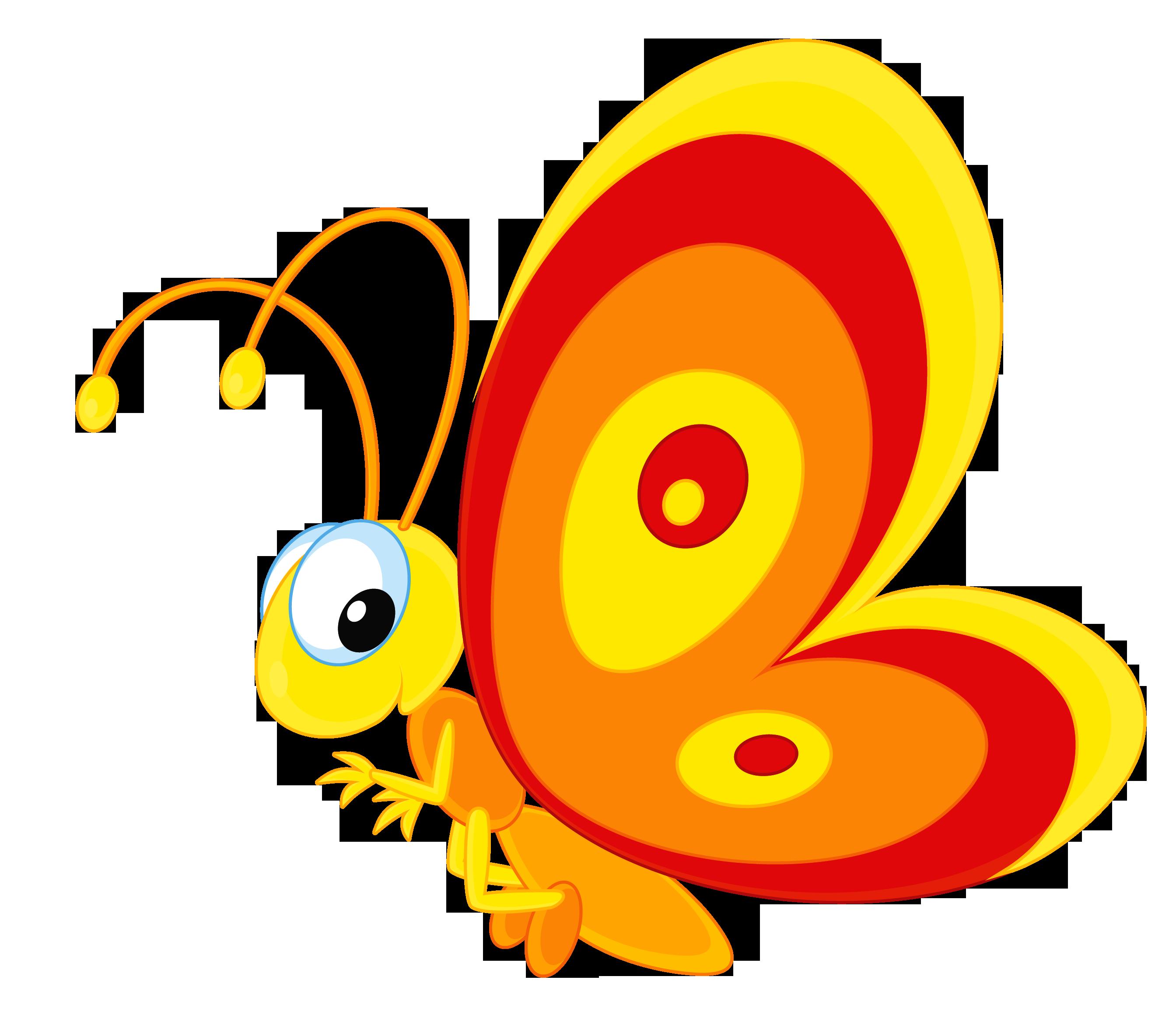 детская бабочка картинка