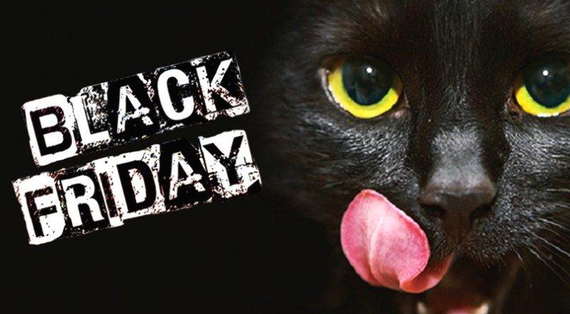 Картинки черная пятница с котом, новому году