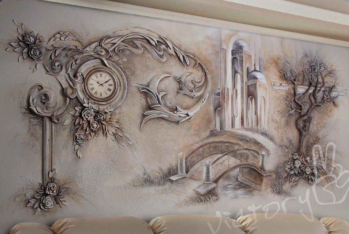 барельеф своими руками на кухне фото полудрагоценный камень