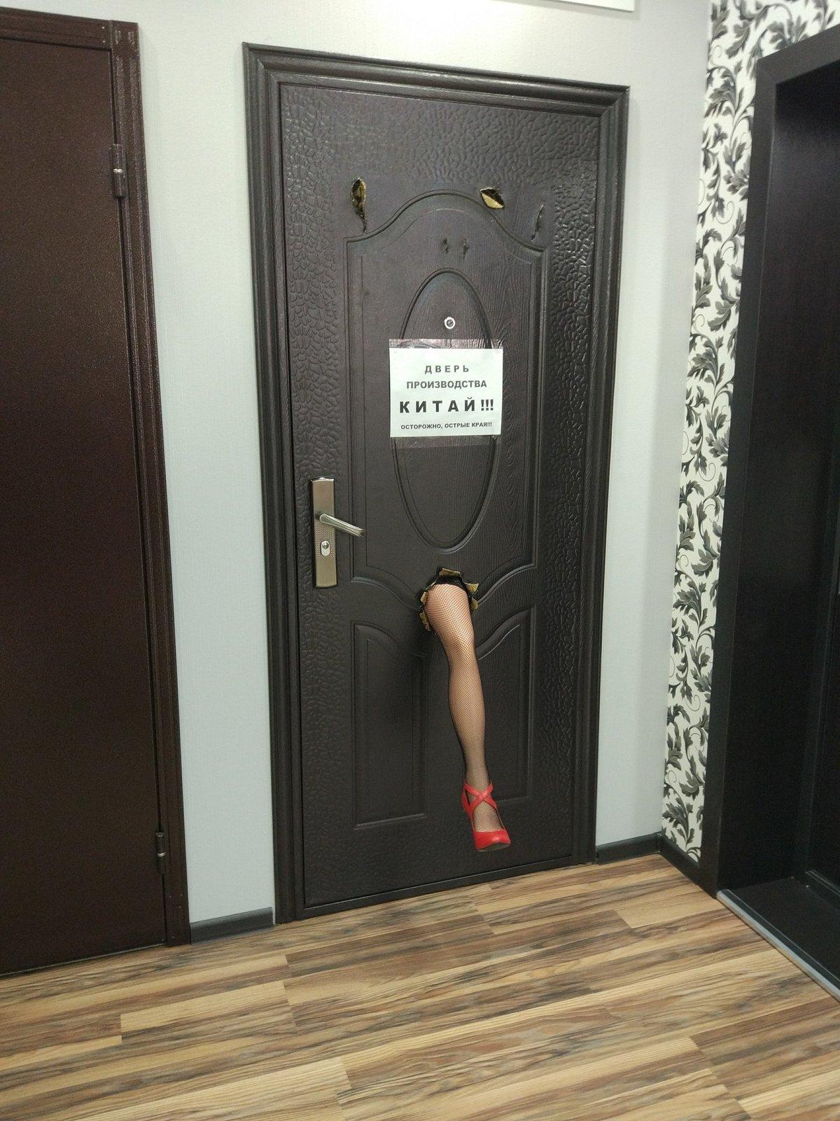 Двери прикольные картинки