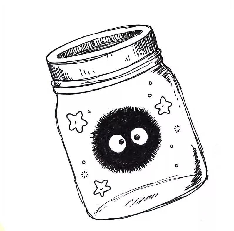 Днем, прикольные рисунки черной гелевой ручкой для срисовки