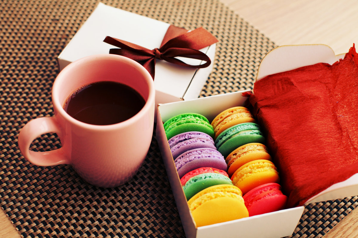 Картинки, кофе со сладостями картинки