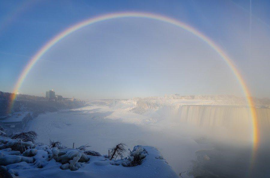 засранка, картинка радуга зимой это попытка