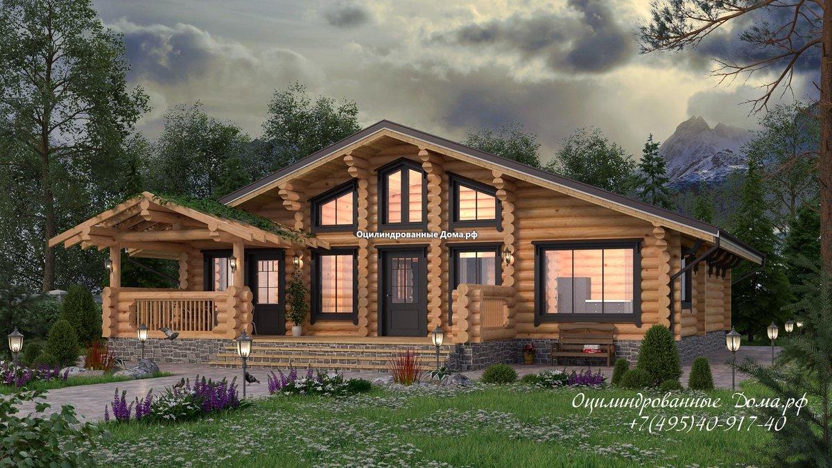 дома из сруба в стиле шале фото продаже домов дач