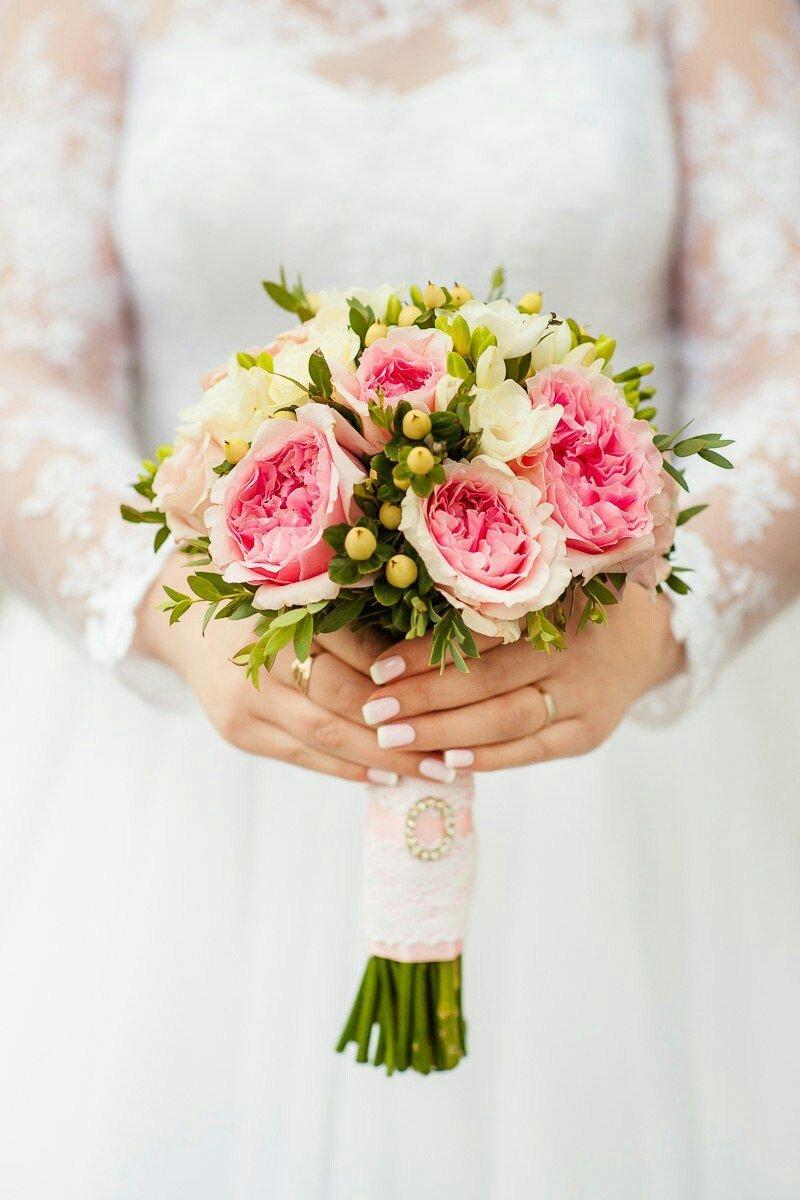 Размер букета невесты