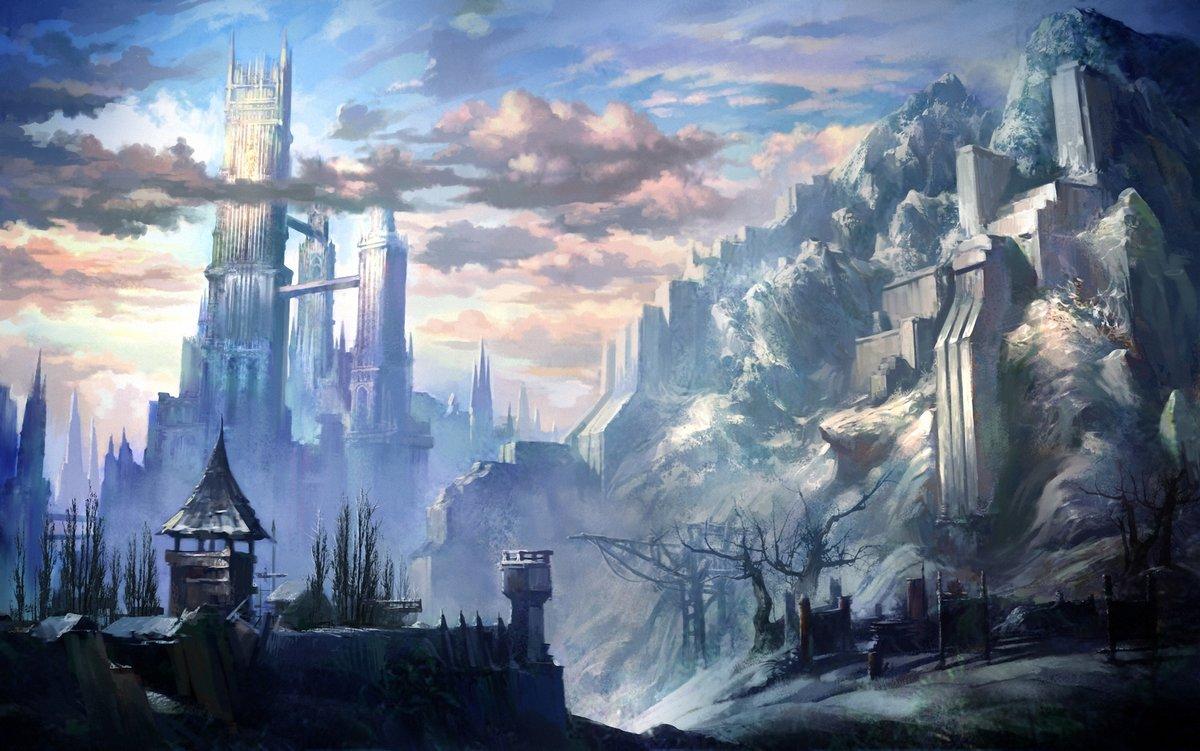 Картинки королевств фэнтези