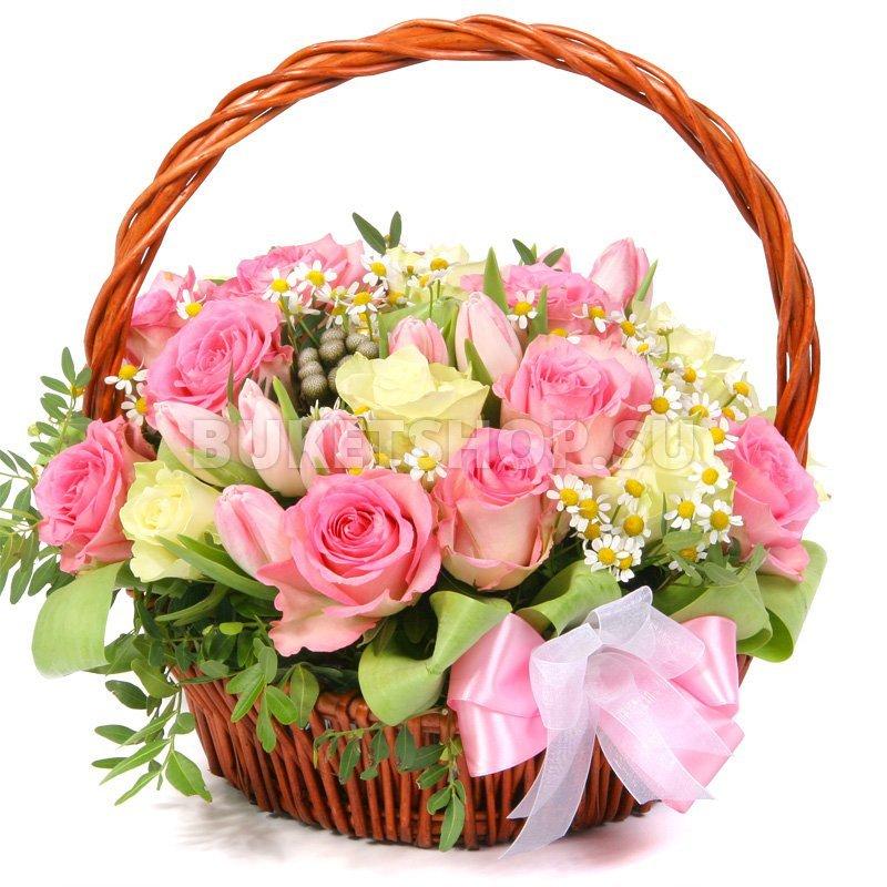 Открытки с цветами в корзине и хорошими его звезды