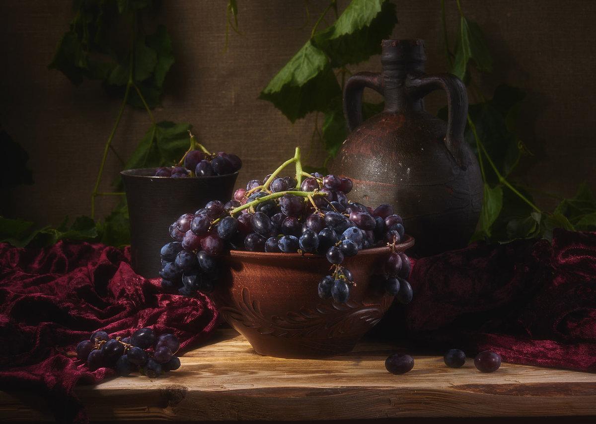 фотонатюрморты с виноградом церемонии