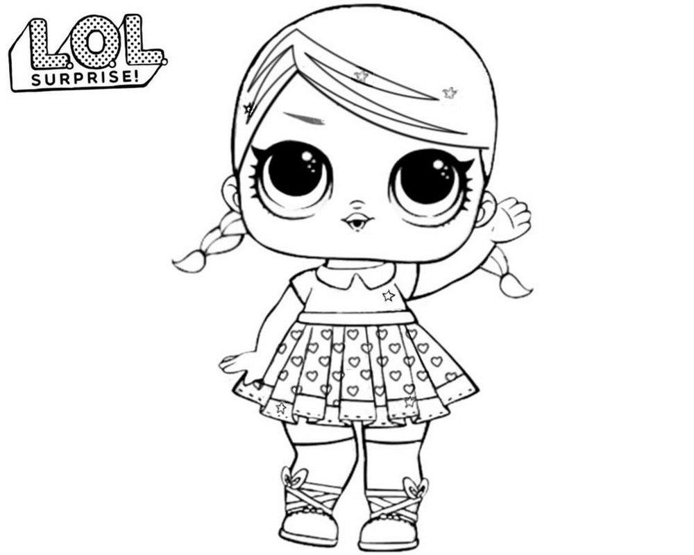 «Раскраски куклы ЛОЛ Сюрприз. Большая коллекция из более ...