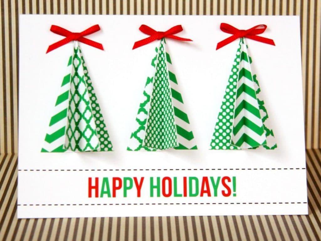 Открытка юбилей, объемные новогодние открытки из бумаги