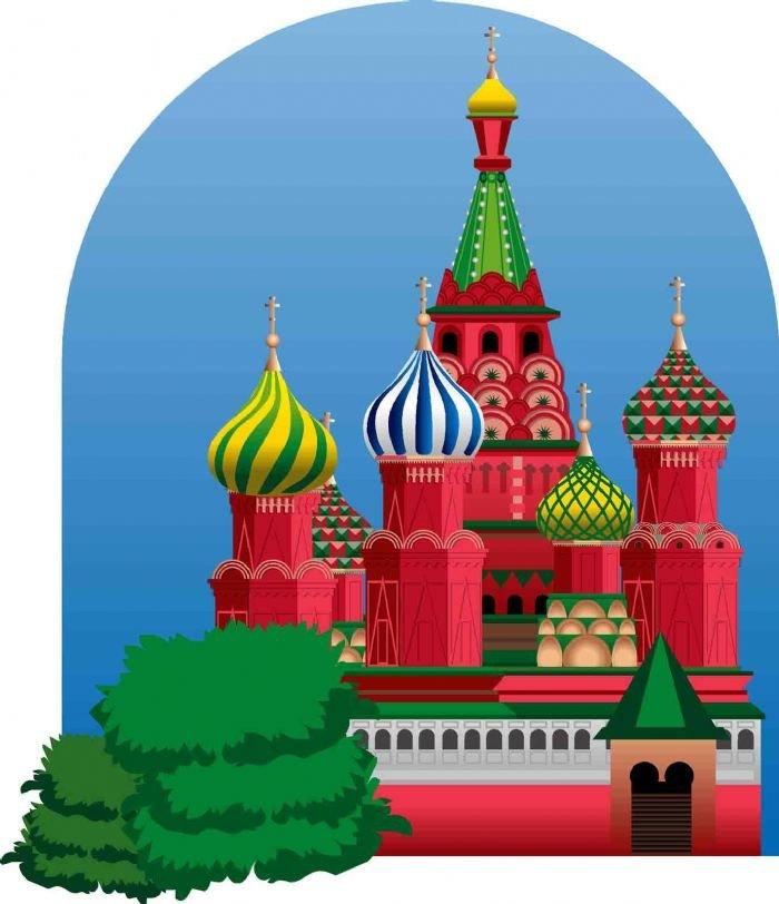 Картинки московский кремль для детей
