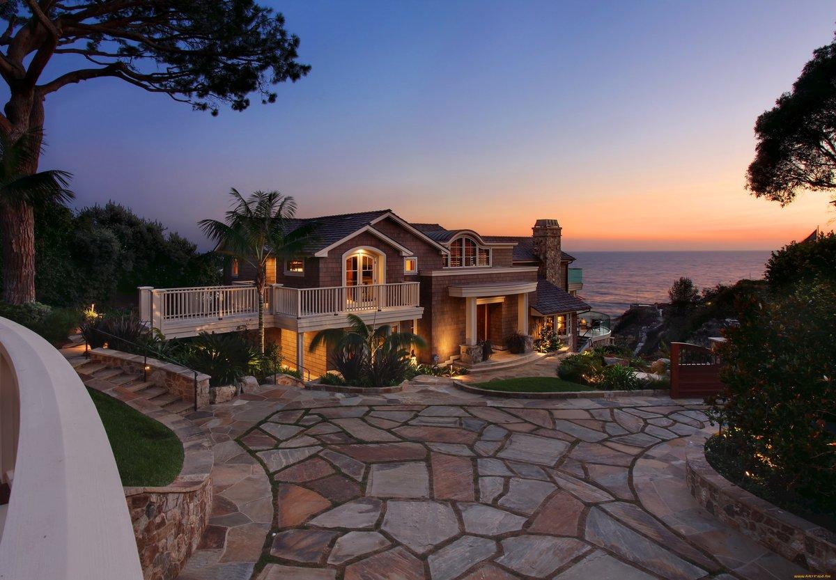 фото самых красивых домов у моря журналистка