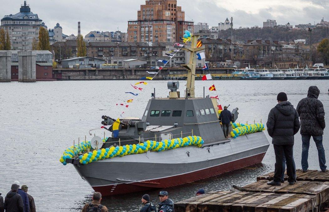 Смешные украинские бронекатера