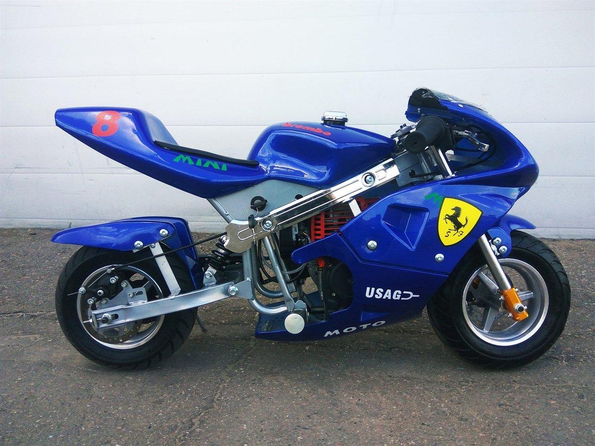 Маленький мотоцикл картинка