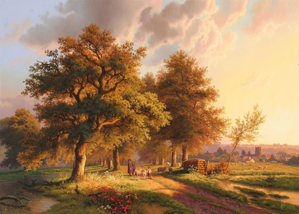 Картинки картины художников, девушек аву красивые