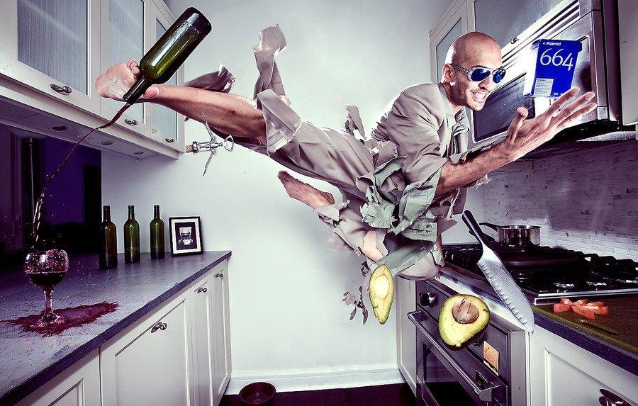 Георгиевская ленточка, прикольные картинки с кухней