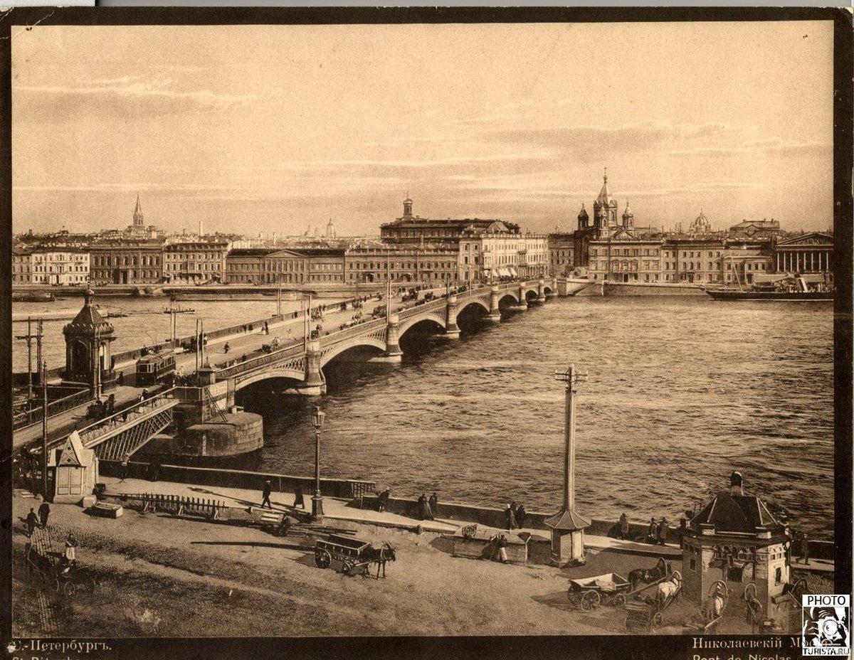 Открытку, старый санкт петербург картинки