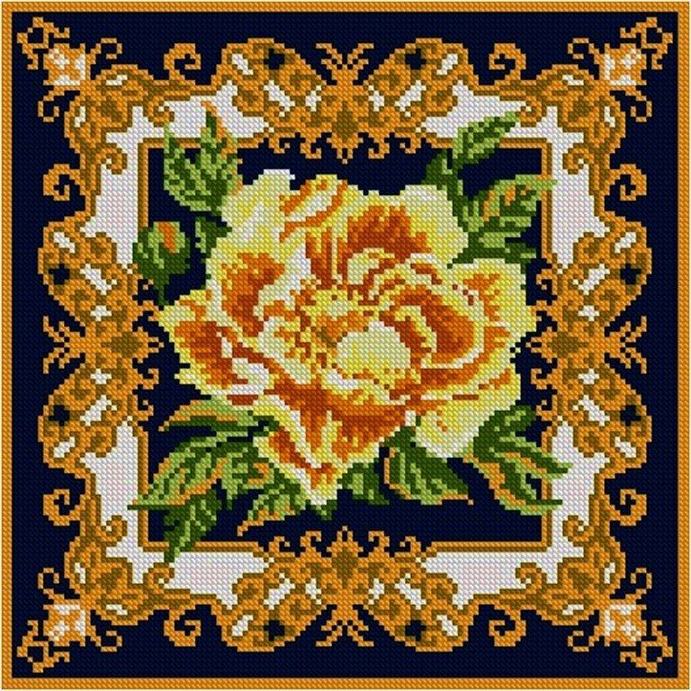 схемы вышивок крестом подушек сотвори сама фото многие побаиваются брать
